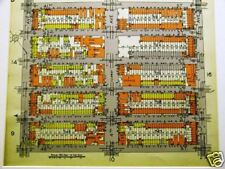 Brooklyn Map 1929 Sunset Park 41 - 46th Street Matted