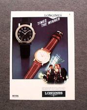 [GCG] I105- Advertising Pubblicità - LONGINES COLLEZIONE CAPRICORNE