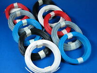 Für die Modellbahn-Verkabelung:100 Meter Kabel (Draht) #Q3