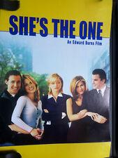 Shes the One (DVD, 2000) Drama Romantic Comedy Film Movie Cameron Diaz fast ship