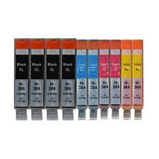 10 Drucker Patronen für HP 364 XL Deskjet 3520 3522 Officejet 4620 4622 mit Chip