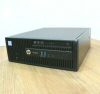 HP Pro 400 G3 SFF Desktop Window 10 Intel Core i5 6th Gen 3.2GHz 4GB 120GB SSD
