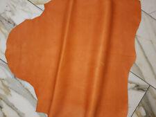 LEDER TIP 34326-QB, Lederreste, 1 Lederhaut, antik-orange nappa