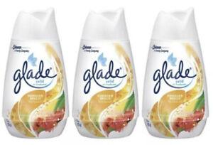 3 X Glade Solid Air Freshener 6 oz Each Hawaiian Breeze Free Ship