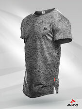 PIMD Lifestyle Grey Tee - Fitness Workout Gym Muscle T-Shirt Bodybuilding Mens