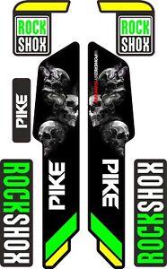 ROCK SHOX FORK Stickers Decals Mountain Bike Down Hill MTB #b093