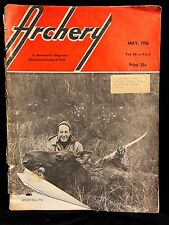 VINTAGE COLLECTIBLE Archery Magazine V 28 N 5 MAY 1956