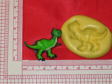 Toy Dinosaur Character Silicone Push Mold Food #164 Cake Chocolate Candy Sugar