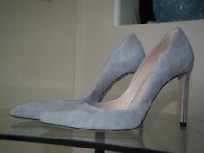 Stuart Weitzman Gray Suede Pump Shoes Women's Size 8 (fit 8.5)