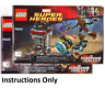 NEW INSTRUCTIONS ONLY LEGO KNOWHERE ESCAPE MISSION 76020 manuals books from set