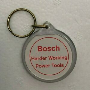1990's Bosch powertools Promotional Advertising Keyring Ball game