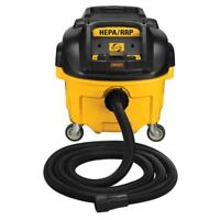 DEWALT DWV010R HEPA Dust Extractor Wet Dry Shop Vacuum 8 Gallon