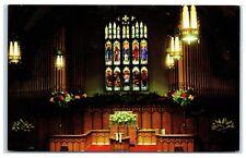 Plymouth Congregational Church Interior, Minneapolis, MN Postcard