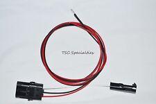 TPI TBI 3 Wire Heated Oxygen O2 Sensor Wire Harness Adapter Camaro Corvette Iroc