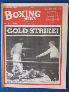 Boxing News Magazine - 5/12/80 - John L Gardner & Lorenzo Zanon Cover