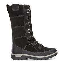 ECCO Womens Gora Tall Boot Hiking Inspired Size 10 / EUR 41