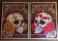 Grateful Dead Fare Thee Well Dead 50 VIP Poster Set Santa Clara Free Shipping