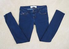 Hollister Womens Skinny Jeans Size 1 Short 1S Dark Wash Stretch