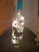 HORSE BOTTLE LIGHT