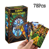 78Pcs/set Fairy Tarot Cards by Ciro Marchetti Card Deck and Guidebook Divination