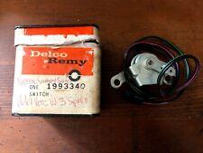 NOS GM 1966-1967 Chevrolet Corvette 3-Speed Transmission Back-Up Light Switch