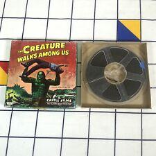 Vintage Retro The Creature Walks Among Us 8mm Castle Films Reel Film Boxed