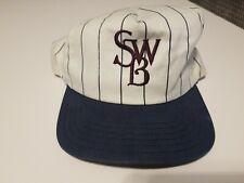 USED Scranton Wilkes Barre Red Barons Snapback Hat - J HAT WHITE PINSTRIPE