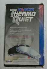 NEW WAGNER THERMO QUIET FRONT BRAKE PADS PD1022 / D1022 FITS VEHICLES LISTED