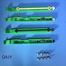 4-Pack: Dell Dimension/Optiplex PC Hard Drive Mounting Rails 87VYR Bracket Clip