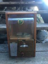 Vintage Victor Gumball Machine - Wood Case