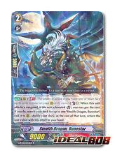 Cardfight Vanguard x 4 Stealth Dragon, Runestar - G-BT03/033EN - R Mint