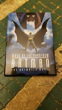 Batman Mask of the Phantasm Movie Promo Metal Button Pin Vintage 1993