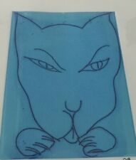 Charles Blackman(1928-2018) Australia  Cat's Claws Signed Blue Limited Edition