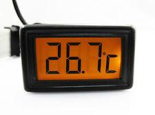 XSPC LCD Temperature Sensor V2 & Flat Sensor Orange