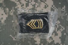 Authentic NEW US Army Shoulder Board Rank Master Sergeant Military Patch Small
