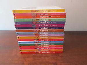 MARTINE - Lot de 18 livres