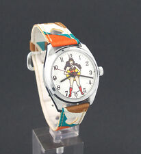 Vintage 1970's wind-up Wonder Woman Comic Character Watch