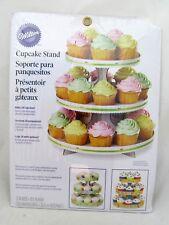 Wilton Cupcake Stand Wedding Birthday Display Dessert Party Round Tower Tier NEW