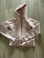 Lululemon Scuba Hoodie Jacket Womens Size 8 Pink Sweatshirt Zip Up Women's 8