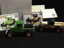 Lot Ntll Motor Museum Mint 1:32 Diecast 1928 Ford Model 76A Atlas & Chevy 1/2Ton