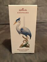 Hallmark 2019 The Great Blue Heron Beauty of Birds 15th Keepsake Ornament Birds