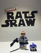 Lego Star Wars minifigures -- Clone Custom Trooper Sgt Boomer - 501st