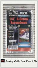 Ultra Pro 4-Screw Screwdown Single Regular Card Rigid Holderx6-NRL Standard Card