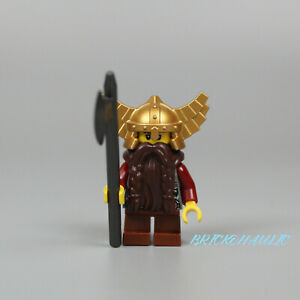 Lego Dwarf 7036 Smirk and Stubble Beard Fantasy Era Castle Minifigure