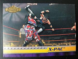 2001 Fleer WWF Championship Clash Wrestling #40 X-Pac Rc Rookie X Factor! Degen