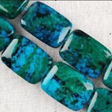 10X14mm Azurite Chrysocolla Gemstones Loose Beads 15'' AAA+++