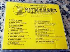 HITMAKERS TOP 40 CD SAMPLER 18 RARE DJ CD 1989 Guns N' Roses Boys House Of Lords