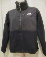 The North Face Women's Denali Jacket Black Full Zip Polartec Fleece Size XS