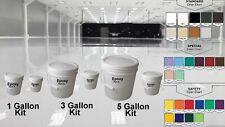 1 3 5 15 Gal Kit High Gloss Clear Garage House Coating Concrete Epoxy Floor