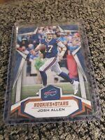 Josh Allen 2019 Rookies And Stars Orange Parallel #/99